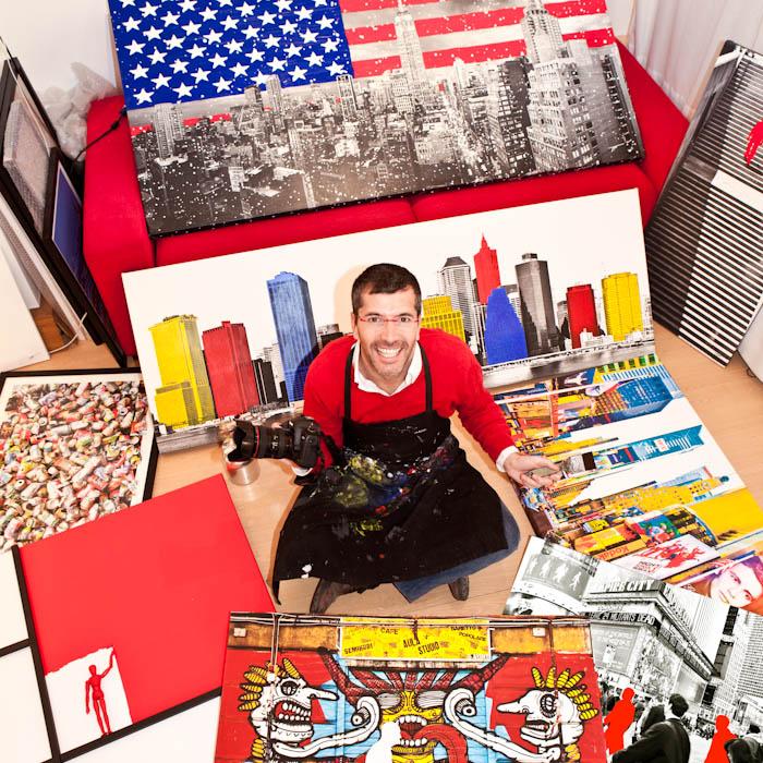 artiste plasticien_galerie megeve_portrait carré